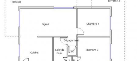 RARE A LA VENTE – Appartement «3 côtés» – SUPERDEVOLUY – A1322