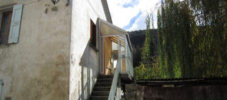 Maison de village sur terrain avec garage +Terrain constructible – m1542