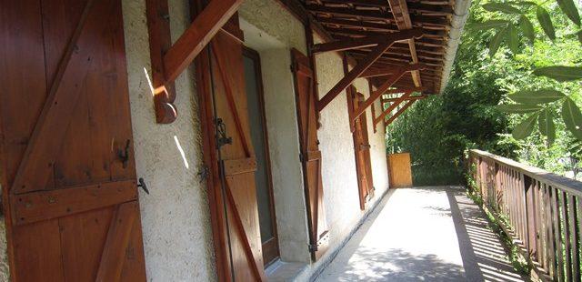 Maison T3 avec jardin – VEYNES – LOC 323